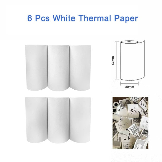 PeriPage Thermal Paper label Paper