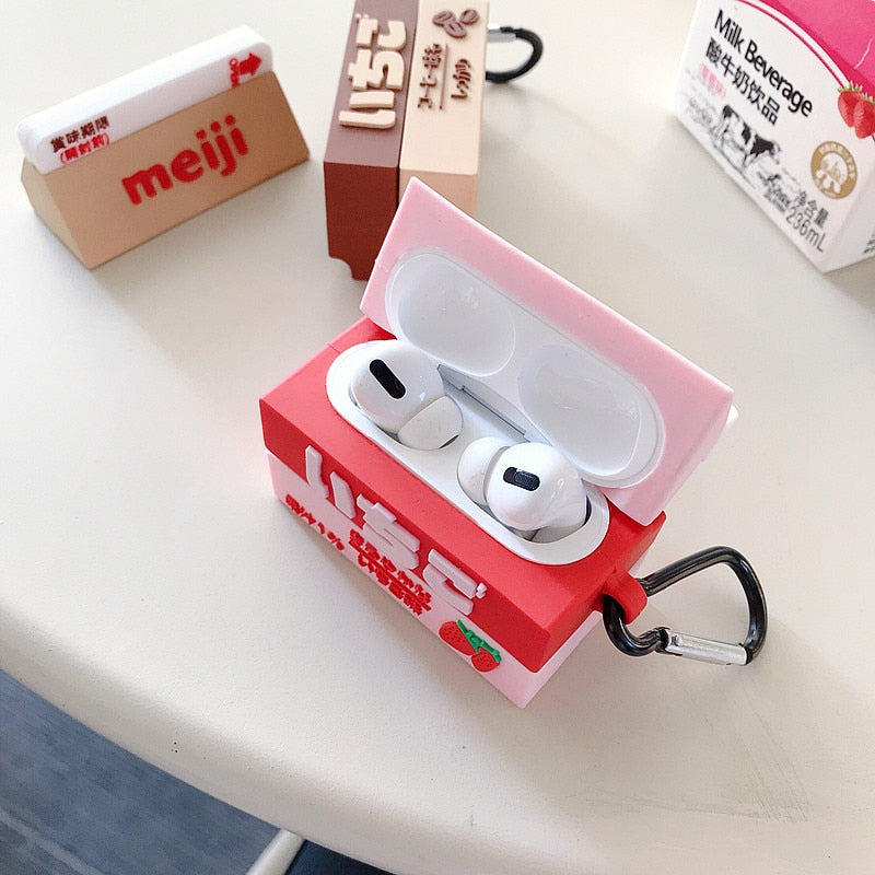 Milky Airpod Cases