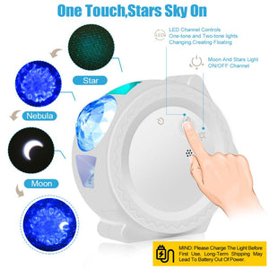 Waves and Stars Projector