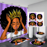 Crown Shower Curtain