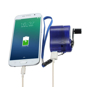 Portable Hand Crank Charger