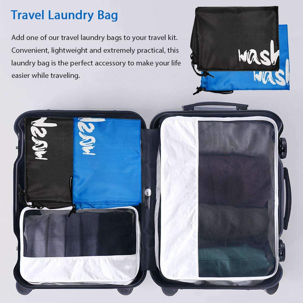 Large Travel Laundry Bag Backpack
