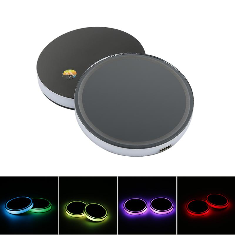 Cool Car Cup Holder With LED Light
