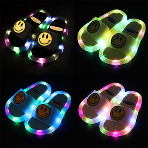 Cool Light Up Kids Slippers