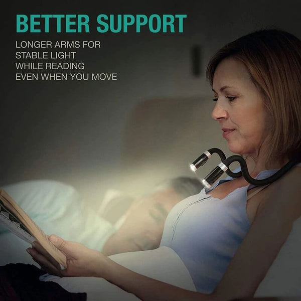 Flexible Book Reading Neck Light