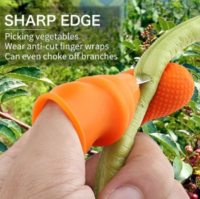 Silicone Thumb Knife & Finger Protector for Gardening