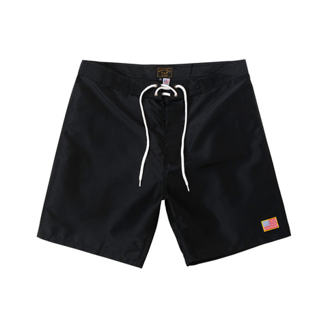 color: Black ~ alt: Half Hitch Boardshort