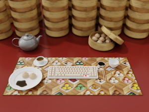 All That and Dim Sum Deskmat