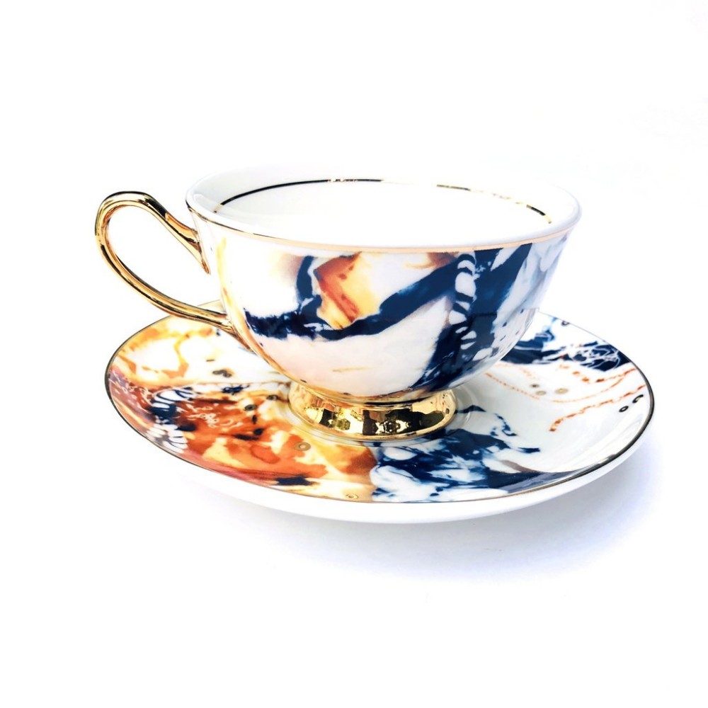 LyndalT Teacup and Saucer