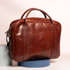 Danny P Leather Messenger Bag