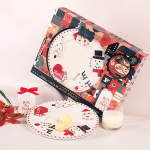 FAO Schwarz Santa Milk & Cookie Set