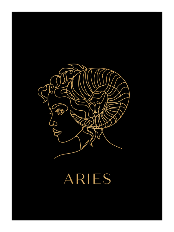 Zodiac Aries- Versace Inspired