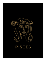 Zodiac Pisces - Versace Inspired