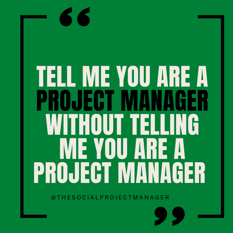 Project Managemer Humor