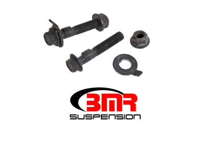 BMR 15-17 S550 Mustang Front Camber Bolts (2.5 Degree Offset) - Black