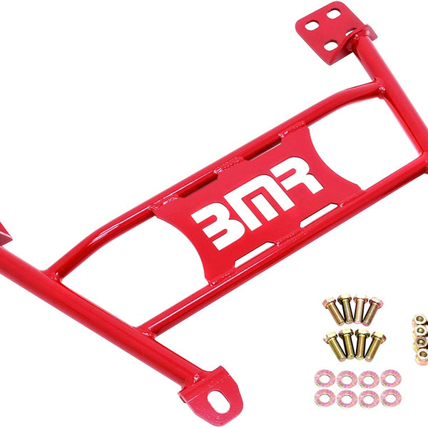BMR 05-14 S197 Mustang Radiator Support Chassis Brace - Red