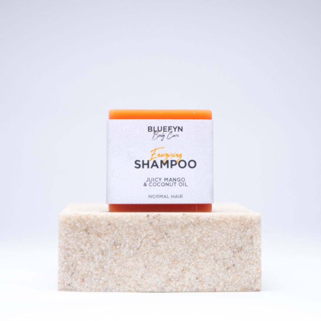 Juicy Mango & Coconut Oil Shampoo Bar - 50g