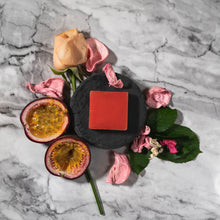 Load image into Gallery viewer, Rose, Patchouli & Passionfruit Shampoo Bar - 50g