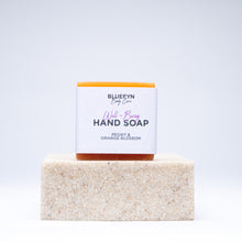Load image into Gallery viewer, Peony & Orange Blossom Hand Soap Bar - 30g