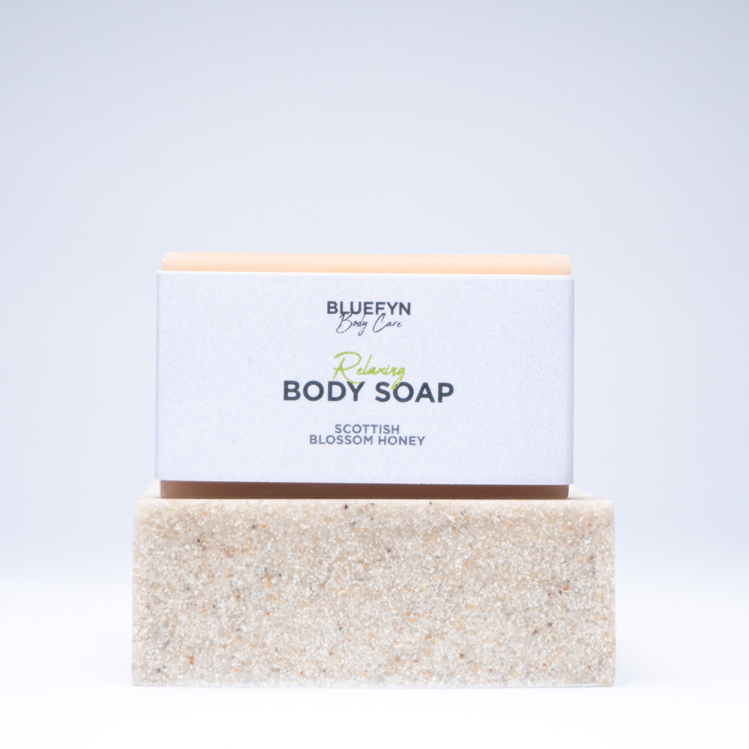 Scottish Blossom Honey Body Soap Bar - 85g