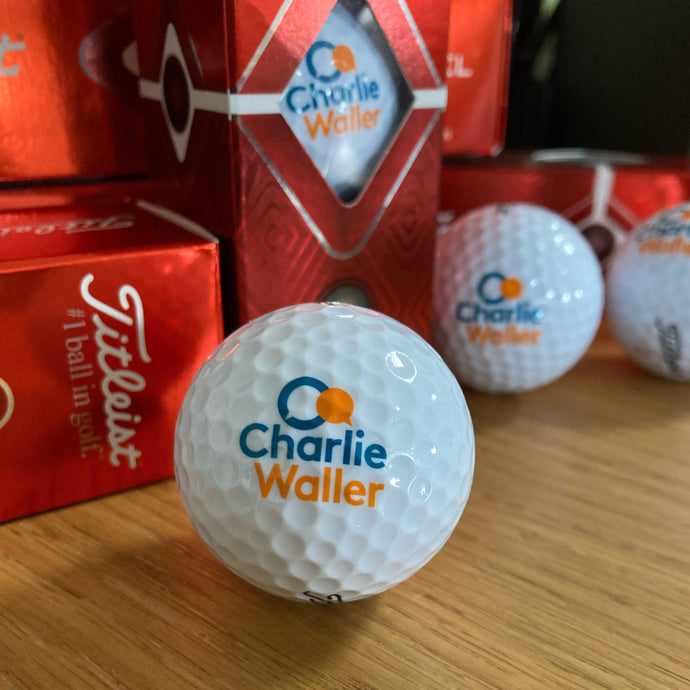 Charlie Waller golf ball