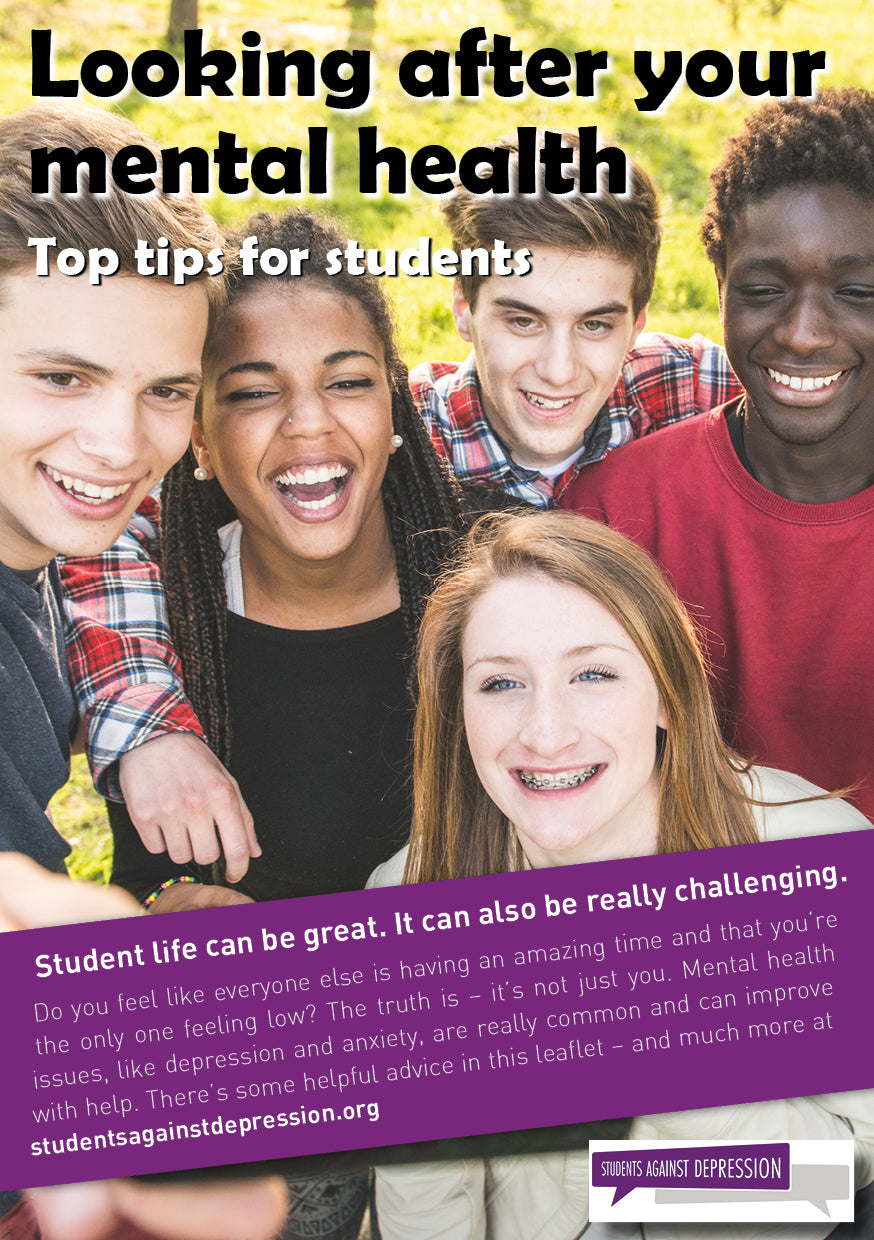 Top tips for students: Looking after your mental health
