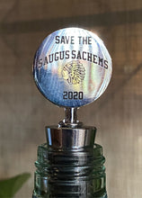 Load image into Gallery viewer, Saugus Sachems Wine Stopper and Pin