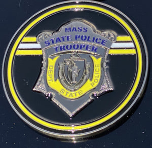 Bobby Orr Hockey Mass State Police Badge Coin