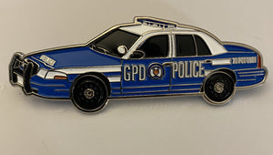 Gotham City (Fictional) Police Department Cruiser Pin