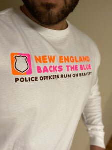 Police Run On Bravery Shirt