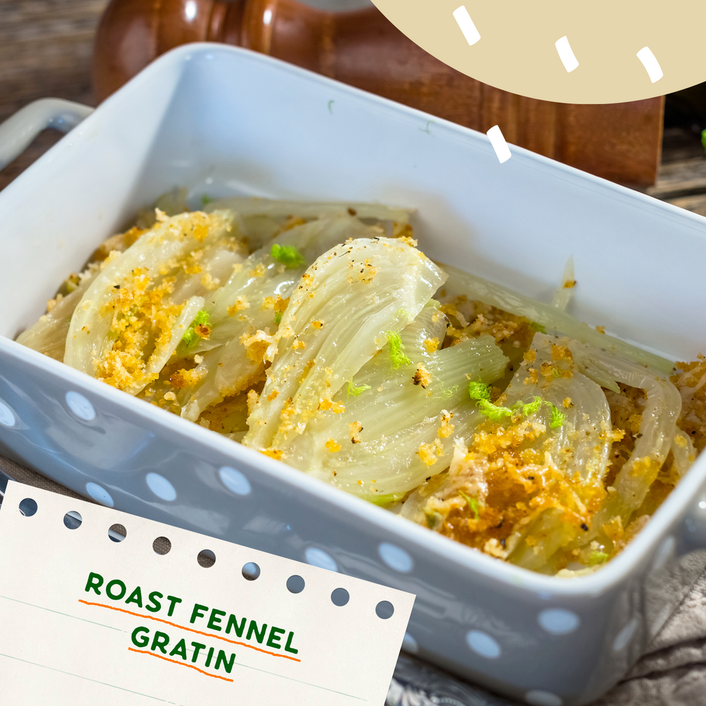 Roast Fennel Gratin Recipe