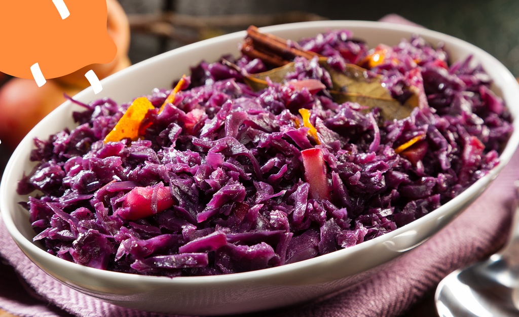 Asian Spiced Red Cabbage Recipe