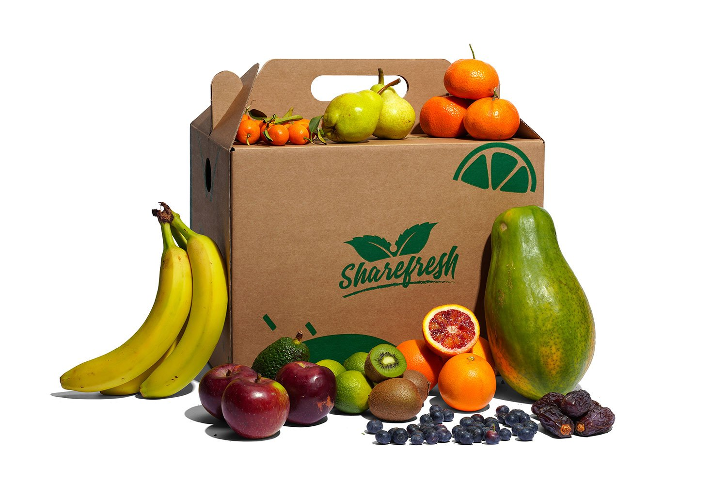 Medium Organic Fruit box