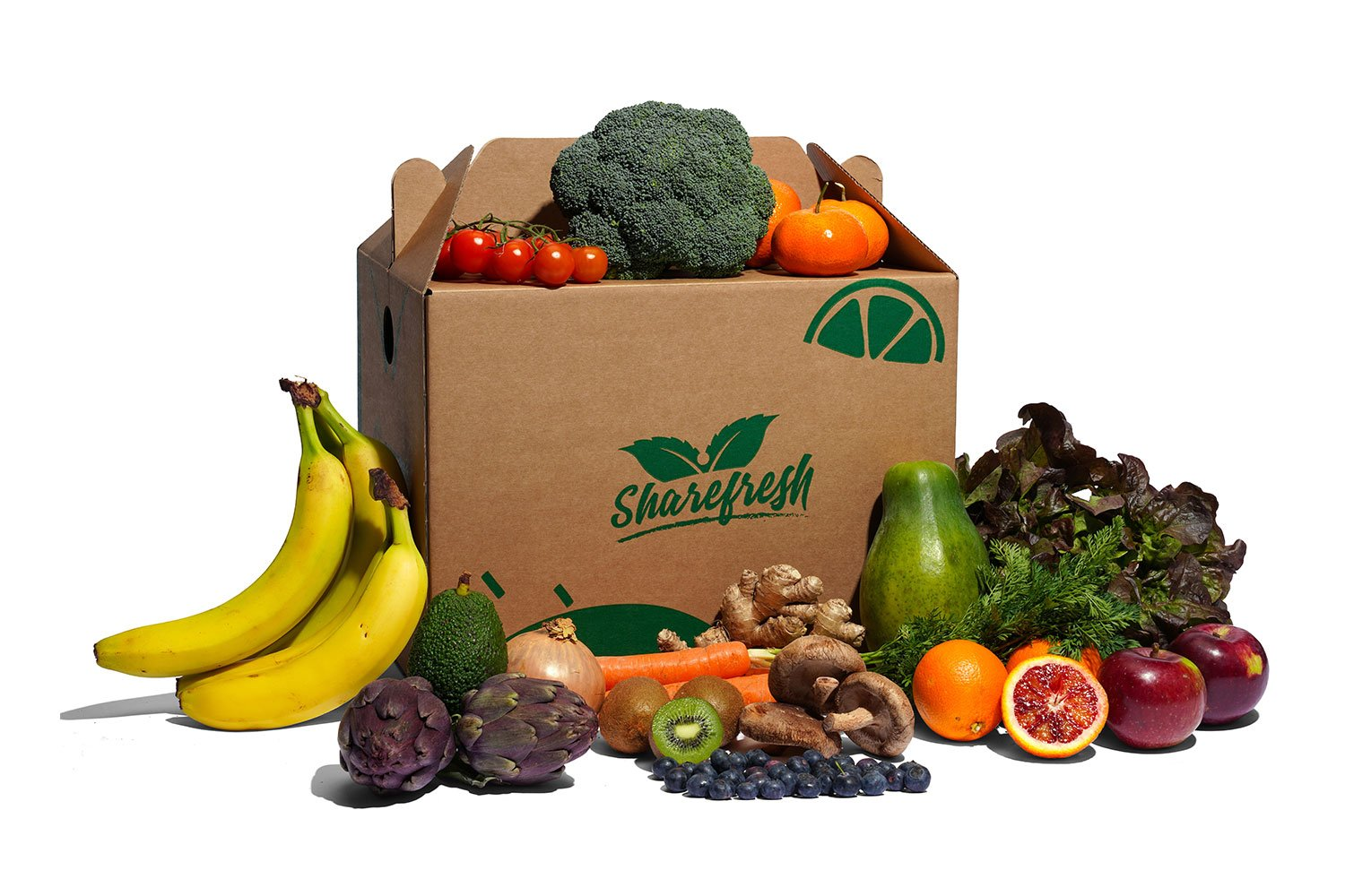 Large Fruit and Veg Organic box