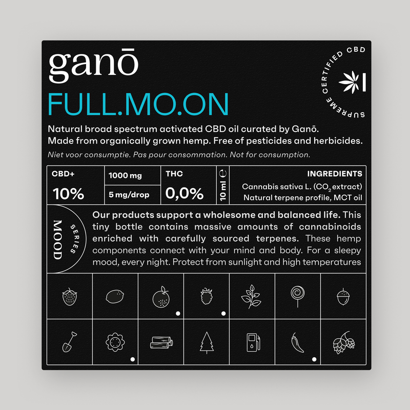 Ganō 10% OIL FULLMOON 10ML