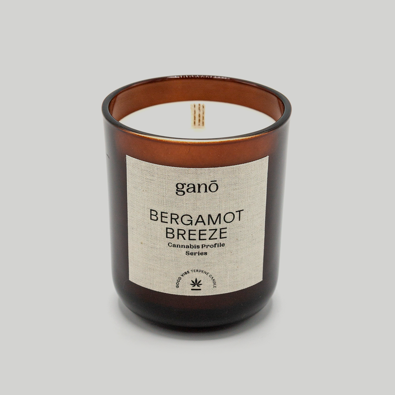 Bergamot Breeze — Cannabis Candle