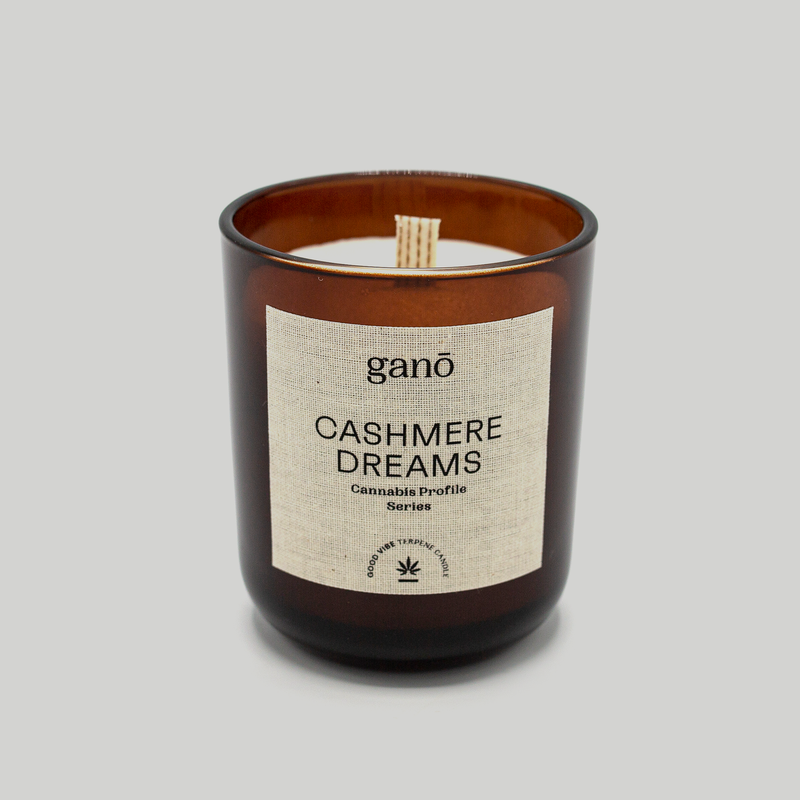 Cashmere Dreams — Cannabis Candle
