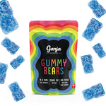 Ganja Bears - Sour Blue Raspberry (10x15mg)