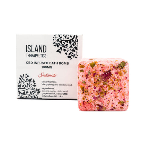 Island Therapeutics – CBD Intimate Bath Bomb (100mg CBD)