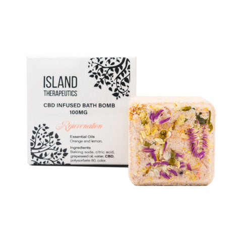 Island Therapeutics – CBD Rejuvenation Bath Bomb (100mg CBD)