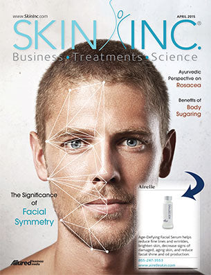 Airelle Skincare's Age Defying Facial Serum featured in Skin Inc Magazine