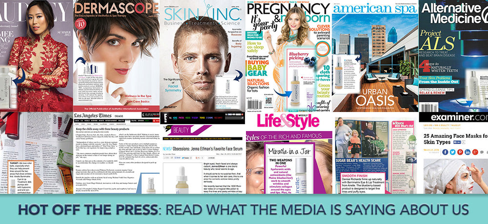 Media coverage for Airelle anti-aging Skincare