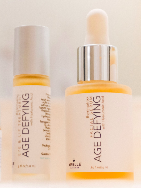 Age-Defying Eye + Lip Treatment and Age-Defying Facial Serum