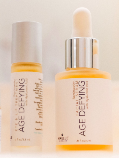 Airelle's Age-Defying Facial Serum and Age-Defying Eye + Lip Treatment (FREE)
