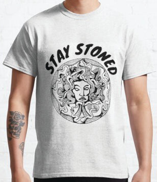 Stay Stoned White T-shirt