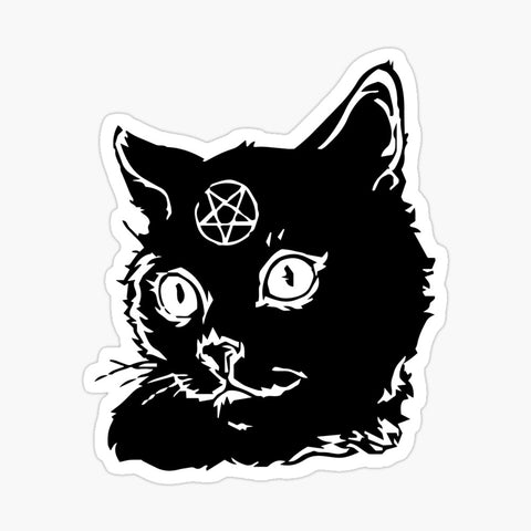 Demon Kitty Sticker