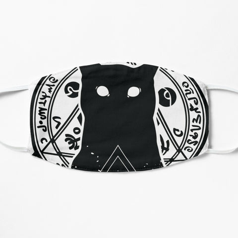 Voodoo Kitty Adult Face Mask