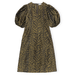 Ganni Crispy Jacquard Dress