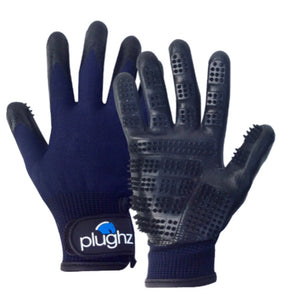 Plughz Wet/Dry Grooming gloves