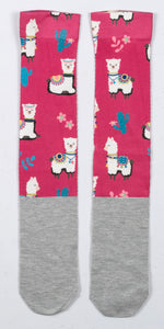 Happy Print Sockies